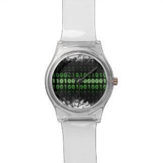 Número binário relógio do 28 de maio