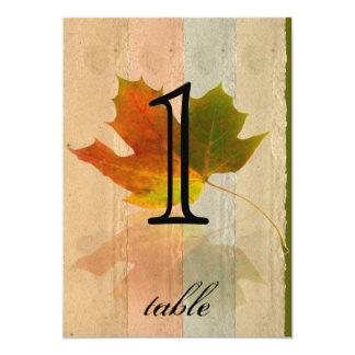 Número da mesa do aniversário da folha de bordo da convite 12.7 x 17.78cm