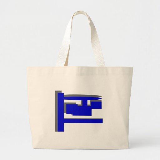 Número de duas cifras bolsas para compras