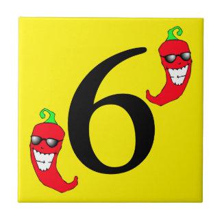 Número quente legal da pimenta de pimentão