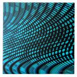 Números binários azulejos de cerâmica