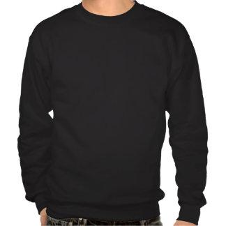Nunca apenas - camisola preta do design moleton