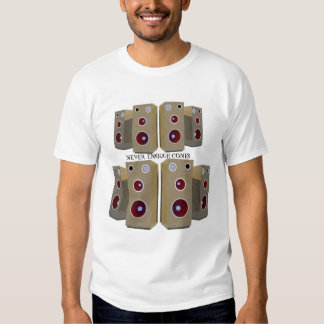 Nunca bastante cones t-shirt