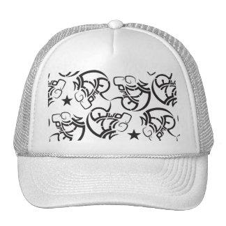 Nunca dê acima o chapéu surpreendente & boné