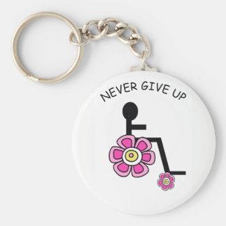 Nunca dê acima o chaveiro de flower power
