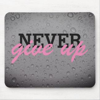 Nunca dê acima o mousepad