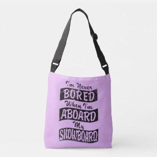 Nunca EMBARQUE A BORDO de meu SNOWBOARD (o preto) Bolsa Ajustável