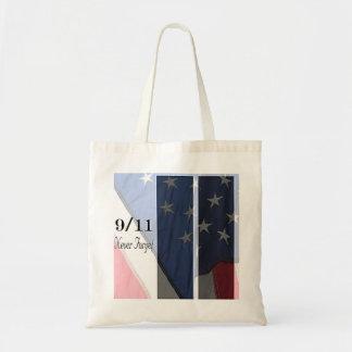 Nunca esqueça bolsa tote