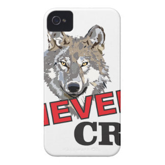 nunca grita o lobo capa para iPhone