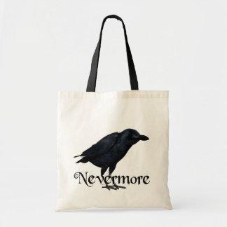 nunca mais corvo 3D Sacola Tote Budget