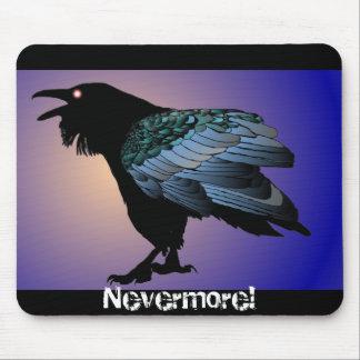 Nunca mais corvo Mousepad