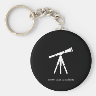 Nunca pare de procurarar o telescópio chaveiro