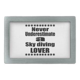 Nunca subestime o amante do mergulho de céu