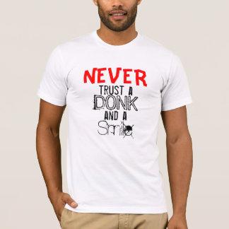 Nunca t-shirt camiseta
