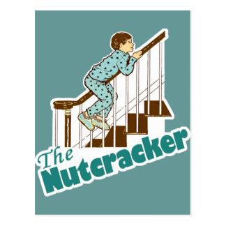 Nutcracker engraçado do Natal Cartão Postal