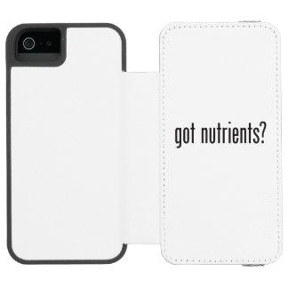 nutrientes obtidos