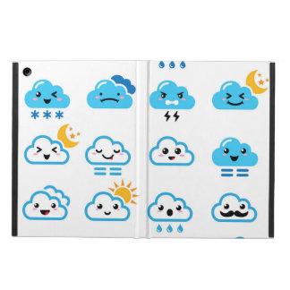 Nuvem bonito - Kawaii, caixa da tabuleta da nuvem