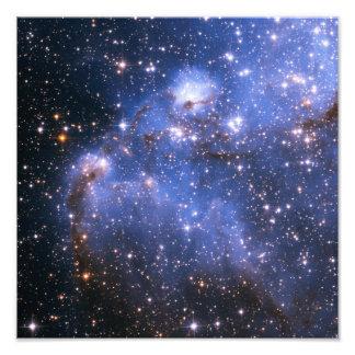Nuvem de Magellanic pequena Impressão De Foto