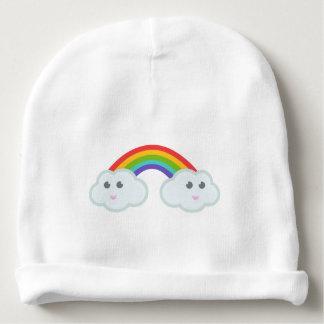 Nuvem do arco-íris de Kawaii Gorro Para Bebê