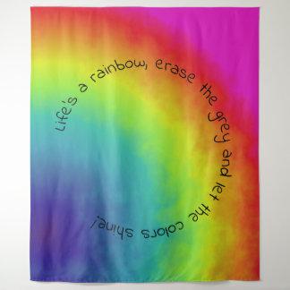 nuvem do arco-íris - tapeçaria