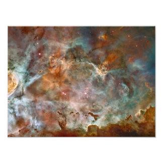 Nuvens da obscuridade da nebulosa de Carina Artes De Fotos