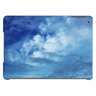 Nuvens do branco do céu azul capa para iPad air