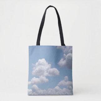 Nuvens do conto de fadas bolsa tote