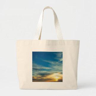 Nuvens do molde dos azul-céu bolsa para compra
