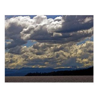 Nuvens, Lake Tahoe Cartão Postal