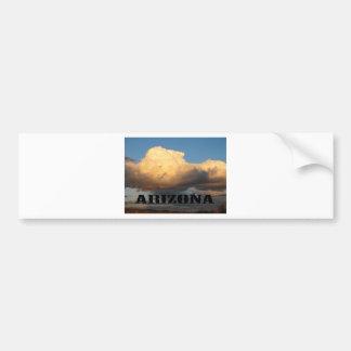 Nuvens na arizona com cacto do Saguaro Adesivo Para Carro