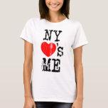 NY ama-me Camiseta
