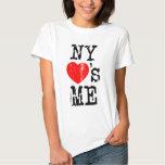 NY ama-me Camisetas