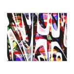 O 14os - Abstrato Impressão De Canvas Envolvida