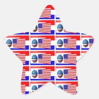 O 4o da etiqueta da estrela de JULHO