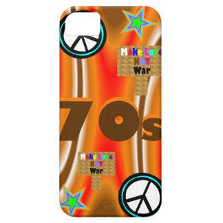 O 70s de Sharnia capa de telefone móvel do `'