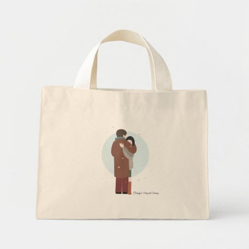 O abraço de Violetta - saco Bolsa De Lona