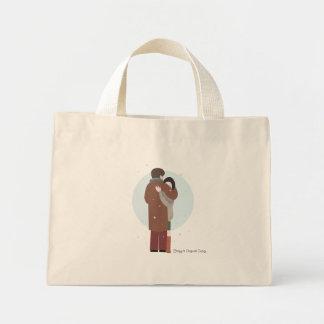 O abraço de Violetta - saco Bolsa Tote Mini