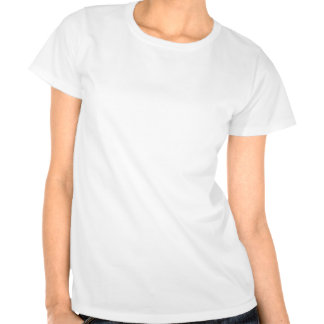 O abstrato colore extremidades do cetim camisetas