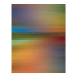 O abstrato colore o funk do disco papel de carta personalizados
