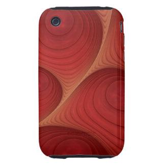 O abstrato decorativo borbulha caso do blackberry capinhas para iPhone 3 tough