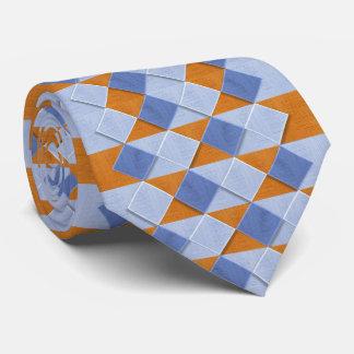 O abstrato modela gravatas do costume das opções