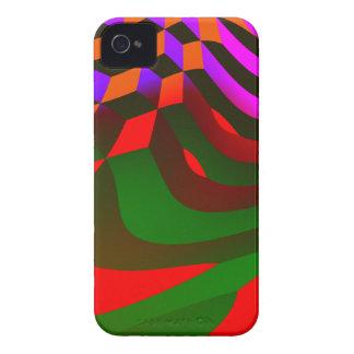 O abstrato obstrui o capa de iphone 4 capa para iPhone