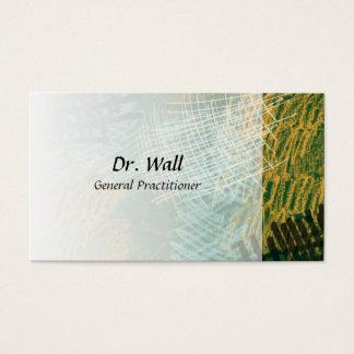 O abstrato Scribbles cartões de visitas