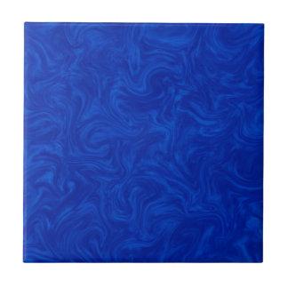 O abstrato Tonal dos azuis marinhos rodou fundo