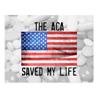 O ACA salvar meu cartão da vida