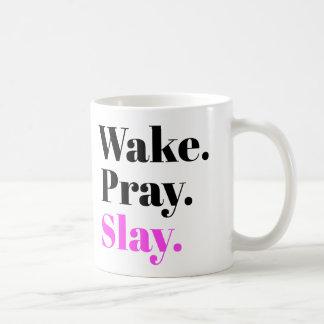 O acordar, Pray, massacra Caneca De Café