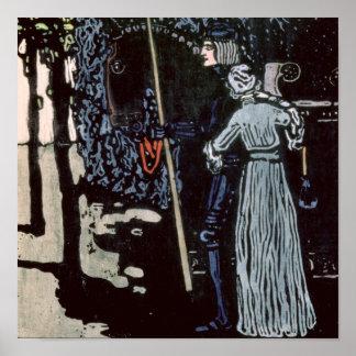 O adeus, 1903 pôster