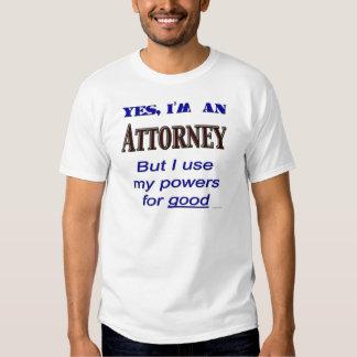 O advogado pôr o provérbio profissional engraçado camisetas