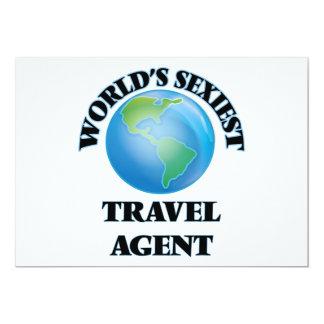"""O agente de viagens o mais """"sexy"""" do mundo convite personalizado"""
