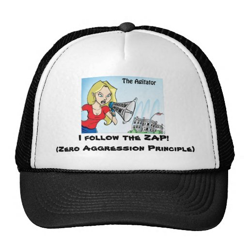 O agitador ZAP o chapéu Bones